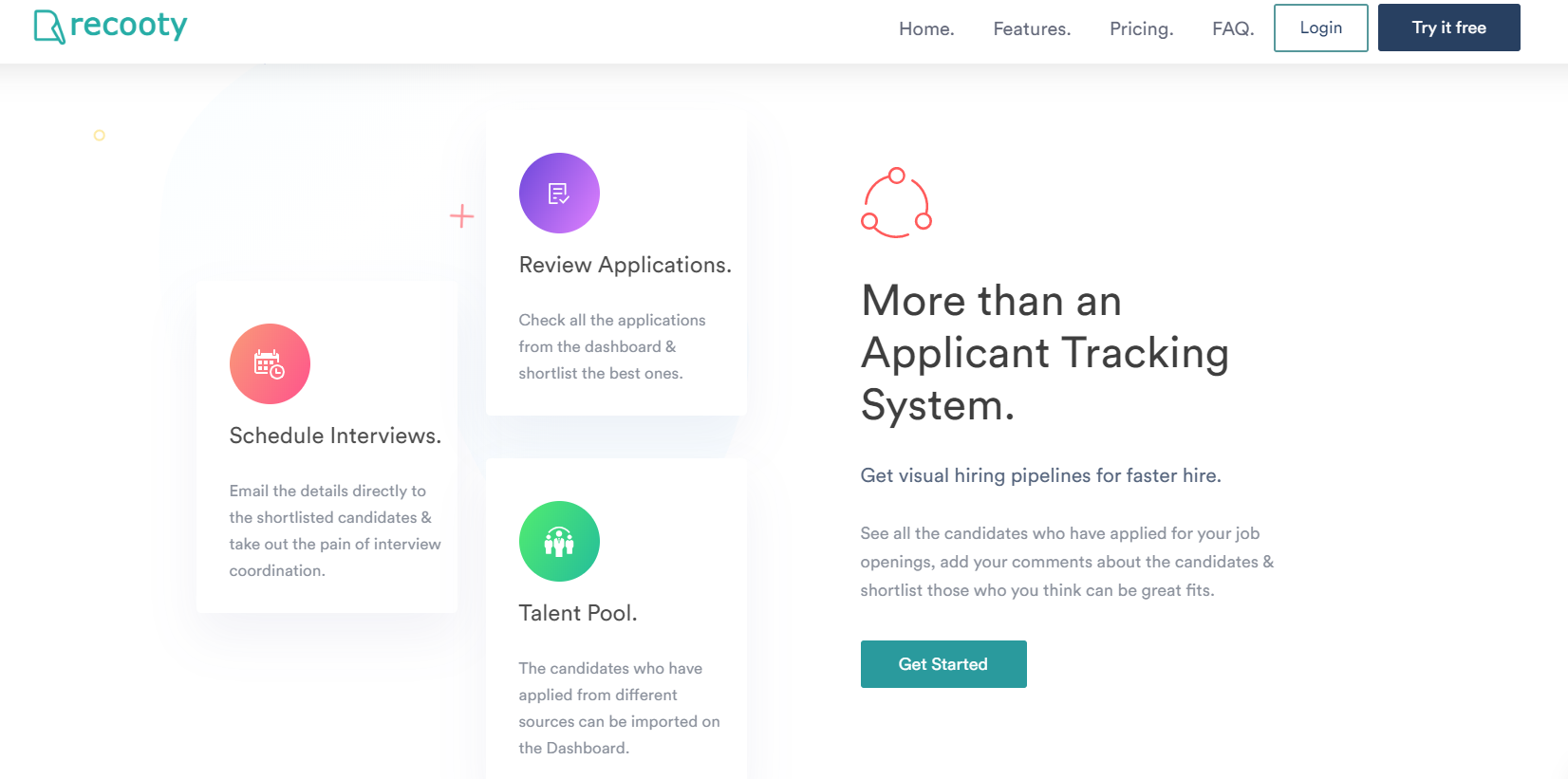 Recooty interview scheduling software