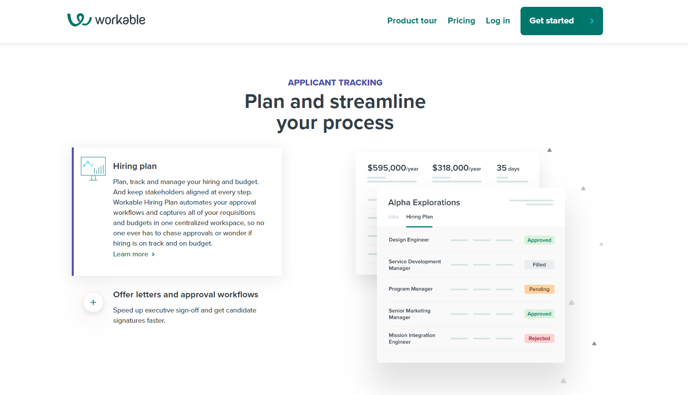 Workable interview scheduling software
