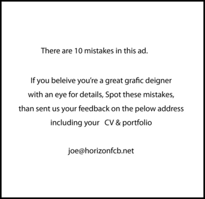 creative recruiting copywriting