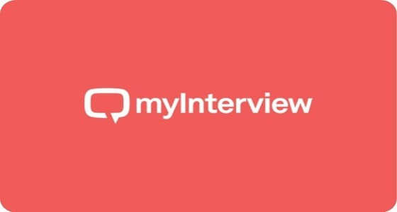 myInterview's video interview software